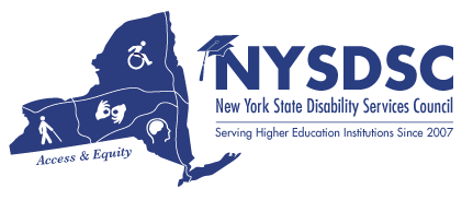 NYSDSC- New York State Disability Services Council Logo